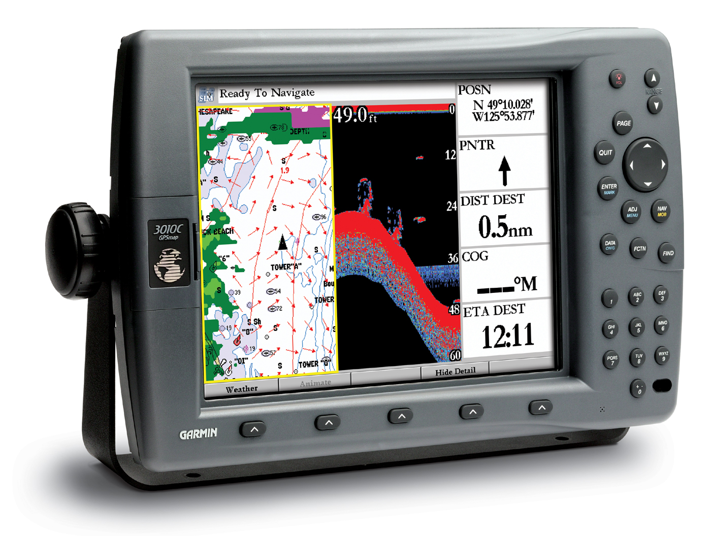 Garmin 3010c Wiring Diagram 300c Fishfinder Media Gallery 2010c Gpsmap With Xmwx Marine Network