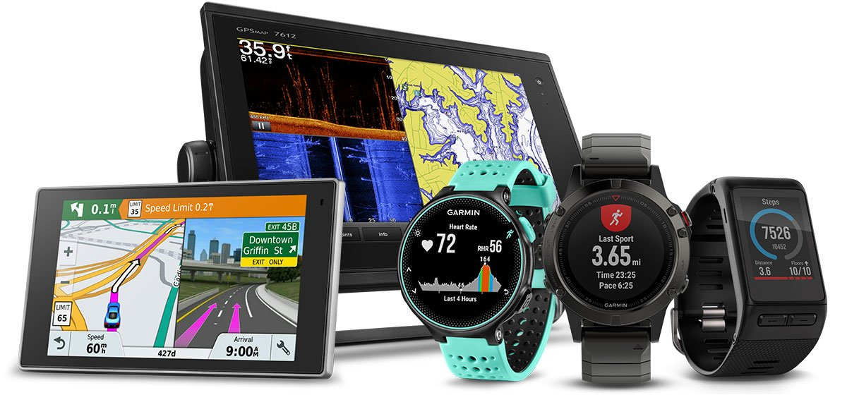 Today, GPS are built in to all types of devices