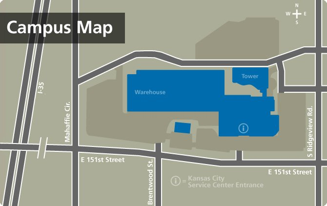 Campus Map, Olathe