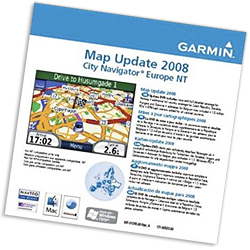 Aktualizacja map Garmin 2008