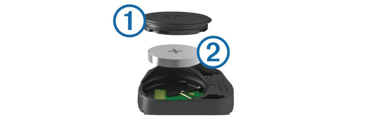 edge 520 replacing the speed sensor or cadence sensor battery