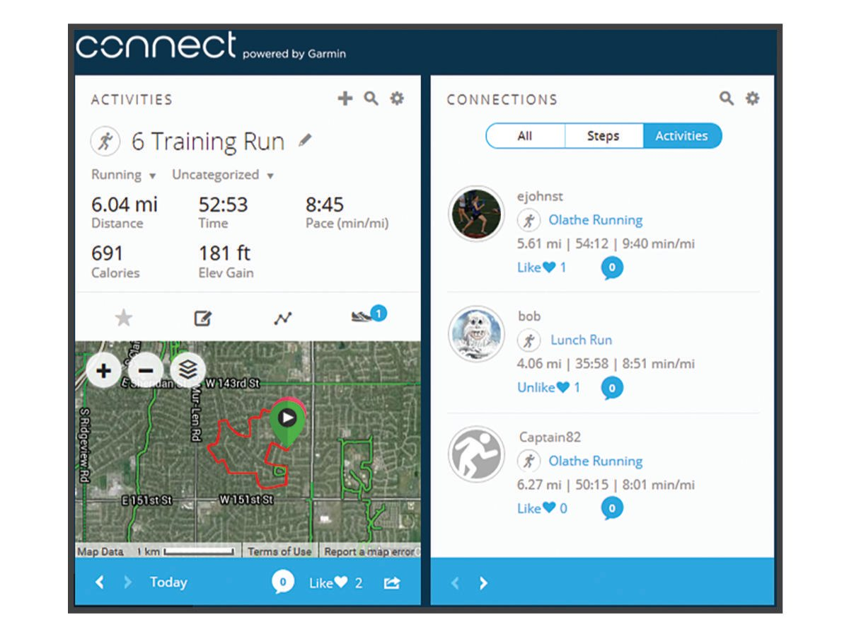 Forerunner 30 - Garmin Connect