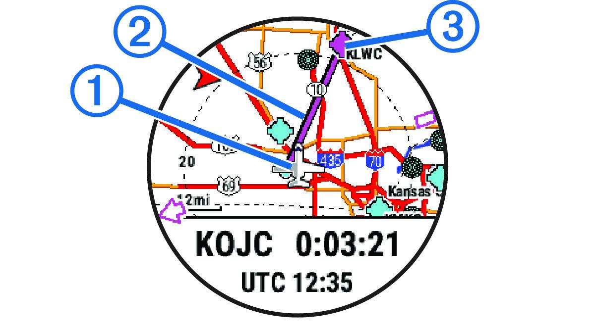 Marq Aviator Navigering Til Dit Startpunkt I Lobet Af En Aktivitet