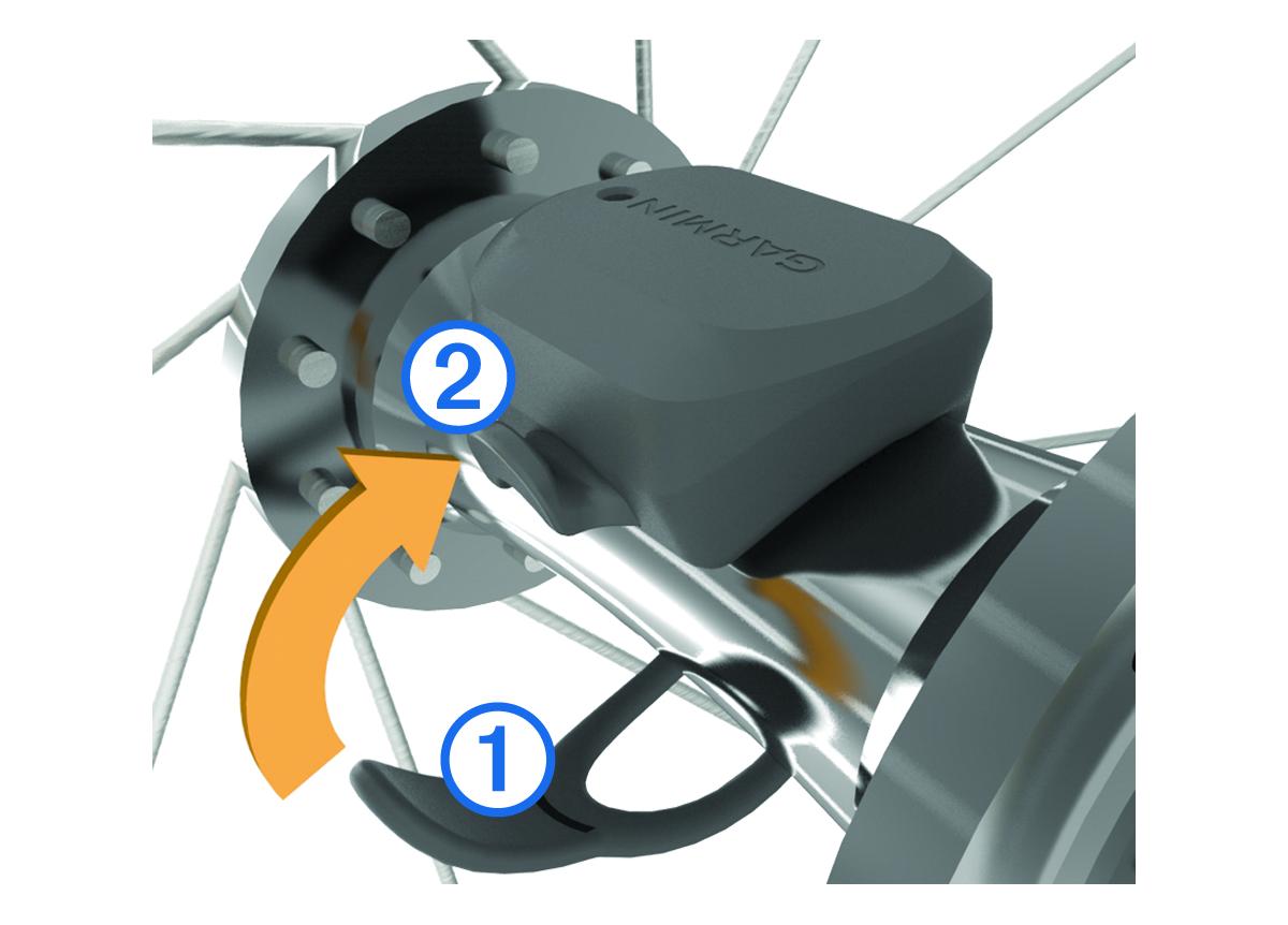 Speed Sensor and Cadence Sensor Instructions - Installing