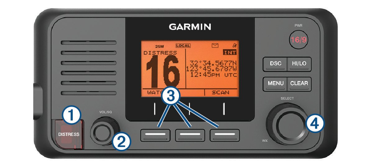 VHF 11x/21x Series Owner's Manual - Radio Overview
