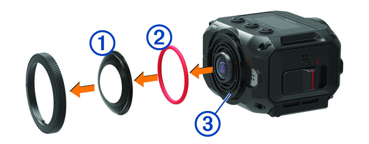 VIRB 360 - Sustituir lente de cristal 9f9894c0bf