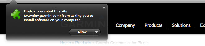 garmin communicator plugin linux